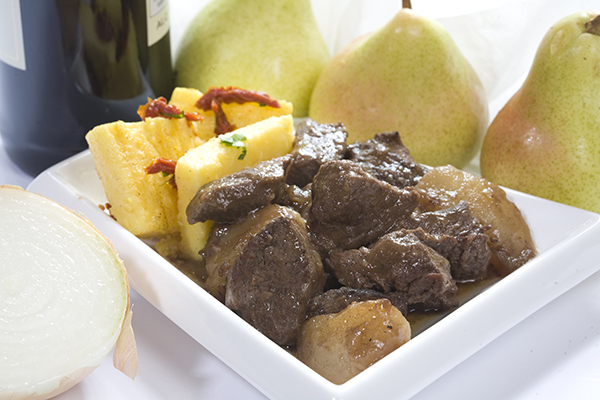 Ostrich And Pear Casserole